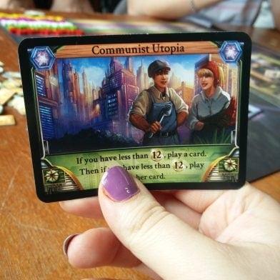 Temporumin kortti: Communist Utopia