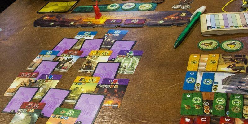 7 wonders: duel kortit