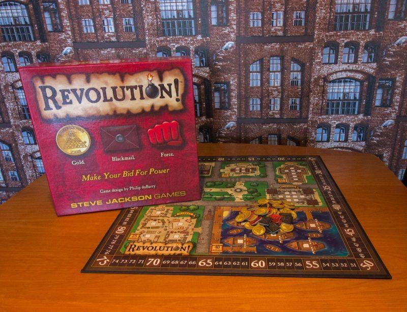 Revolution kansikuva