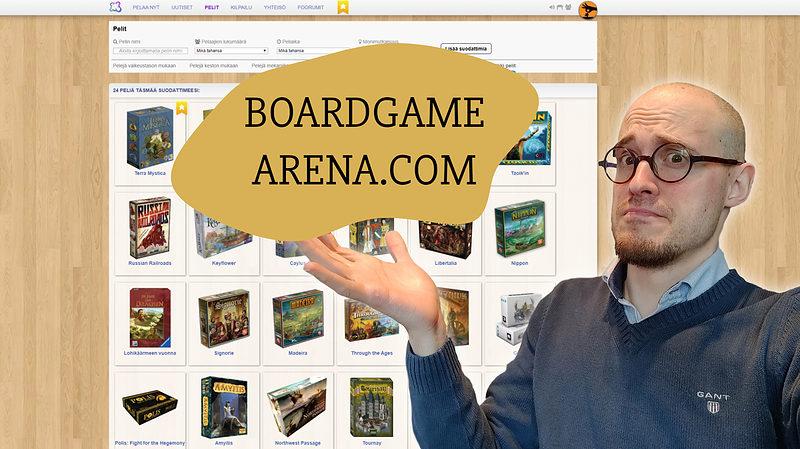 Lautapelit netissä - missä on paras pelata? Boardgamearena, Tabletopia vai Tabletop Simulator? 2