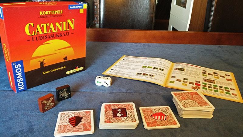Halpapelisarja - Osa II: Catanin uudisasukkaat - korttipeli 1