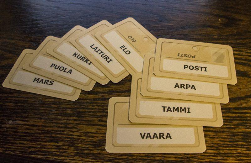 codenames suomeksi sanat