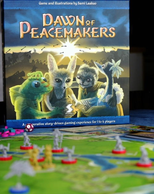 Dawn of Peacemakers lautapelin arvostelu 1