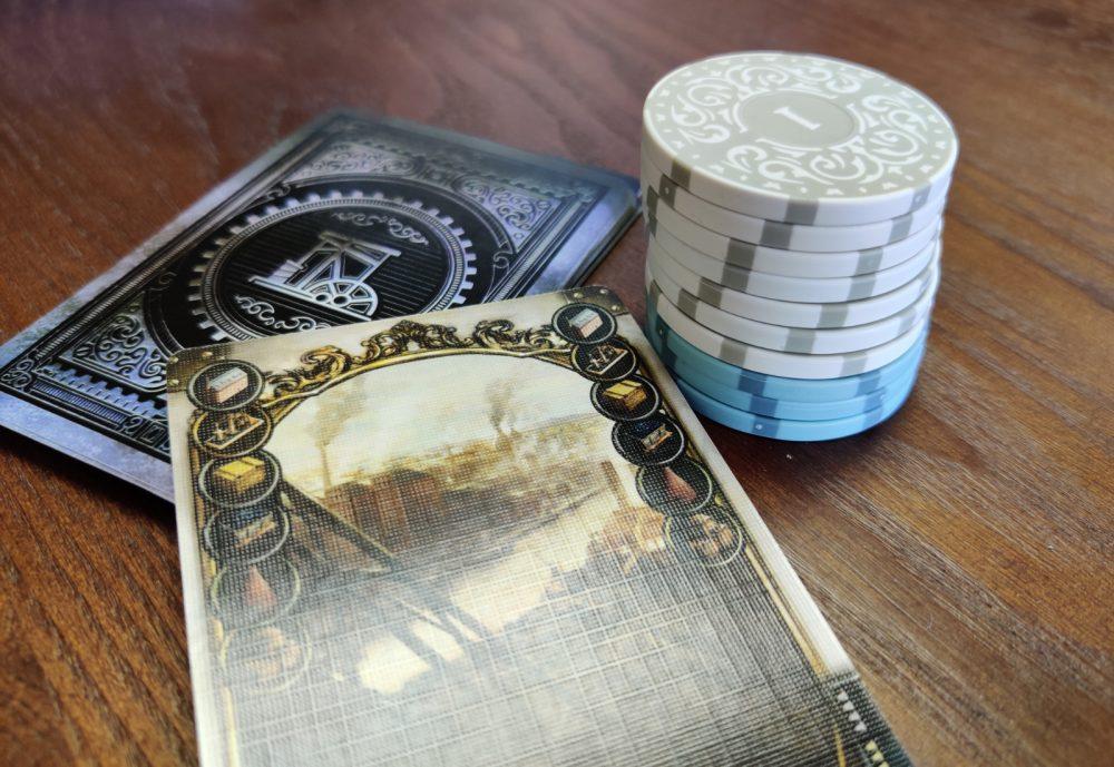 Pokerimerkit lautapelirahoina? Arvostelussa Roxley Gamesin Iron Clays pelimerkit 2