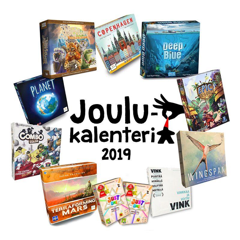 Pöydällä joulukalenteri 2019 25
