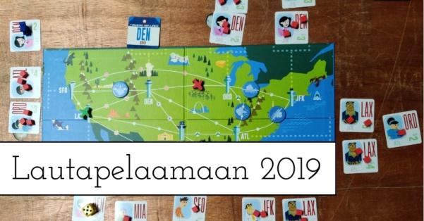 Lautapelaamaan 2019 – Redi toimi ja kivaa oli!