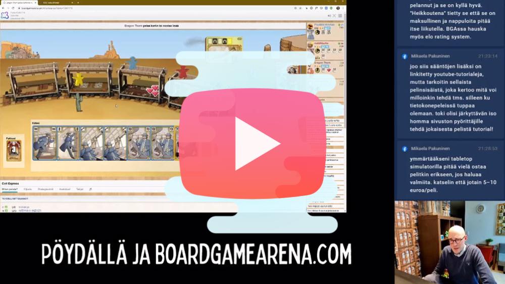 Lautapelit netissä - missä on paras pelata? Boardgamearena, Tabletopia vai Tabletop Simulator? 1
