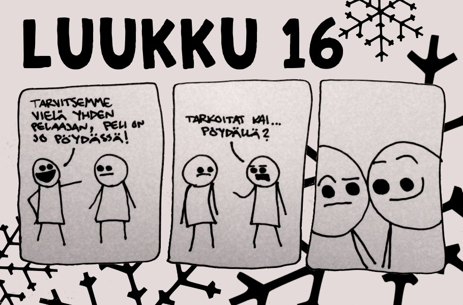 joulukalenteri 2018 luukku 17