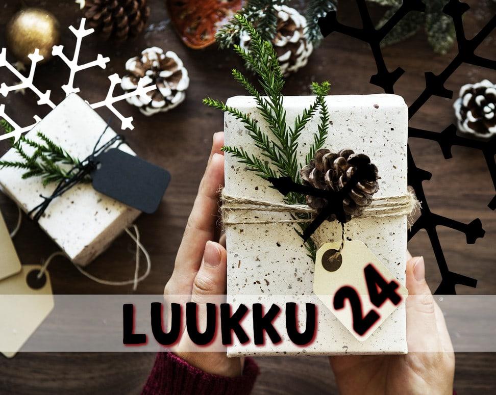 luukku 24 joulukalenteri 2018
