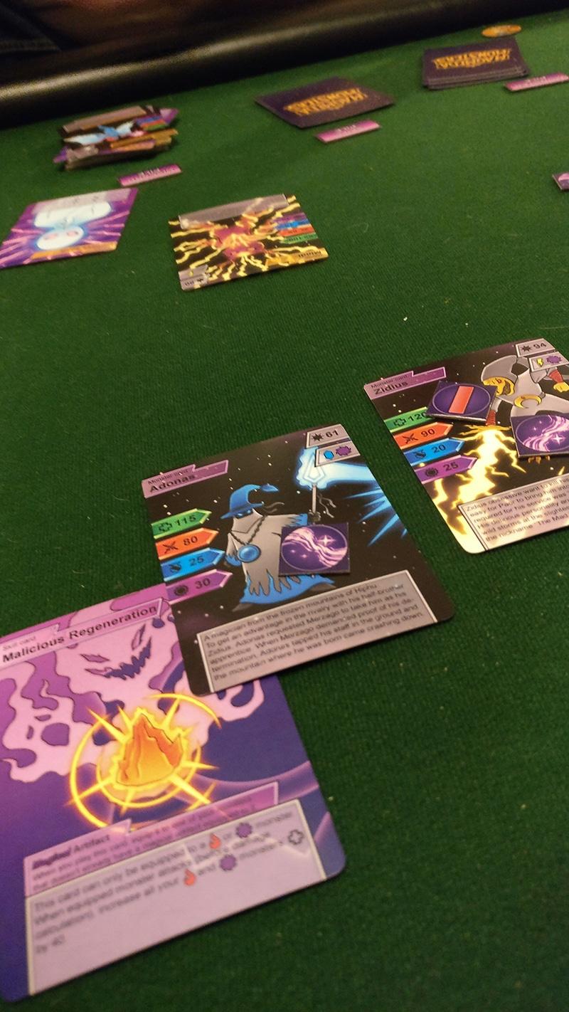 Magmeda Monsters monster cards