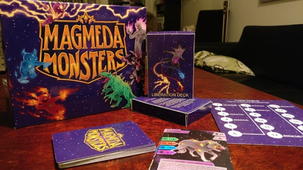 Magmeda Monsters board game review in english – Math and monsterrrrrrs!