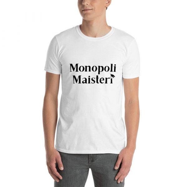 Monopolimaisteri - lyhyt hihainen t-paita (unisex) 1