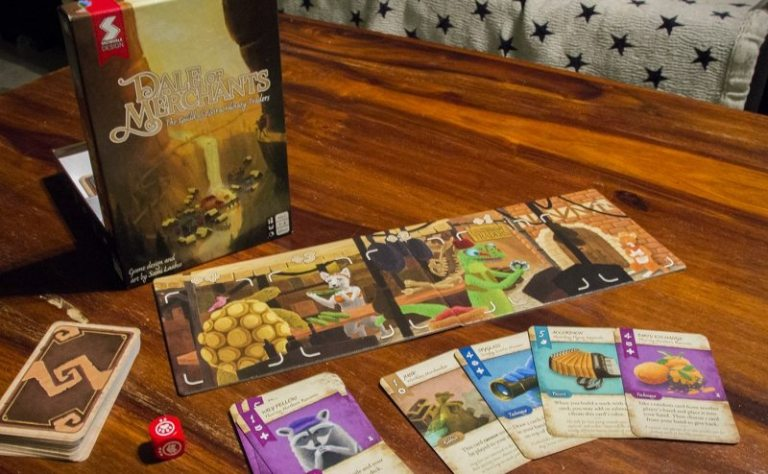 Dale of Merchants board game review