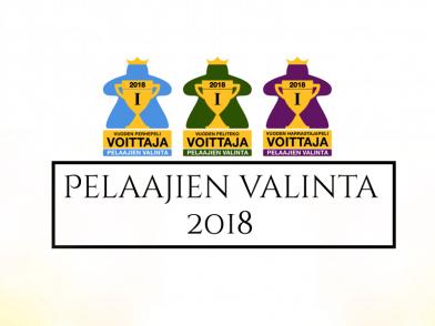 pelaajien valinta voittajat 2018