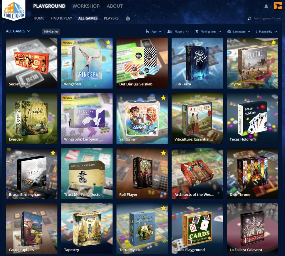 Lautapelit netissä - missä on paras pelata? Boardgamearena, Tabletopia vai Tabletop Simulator? 4