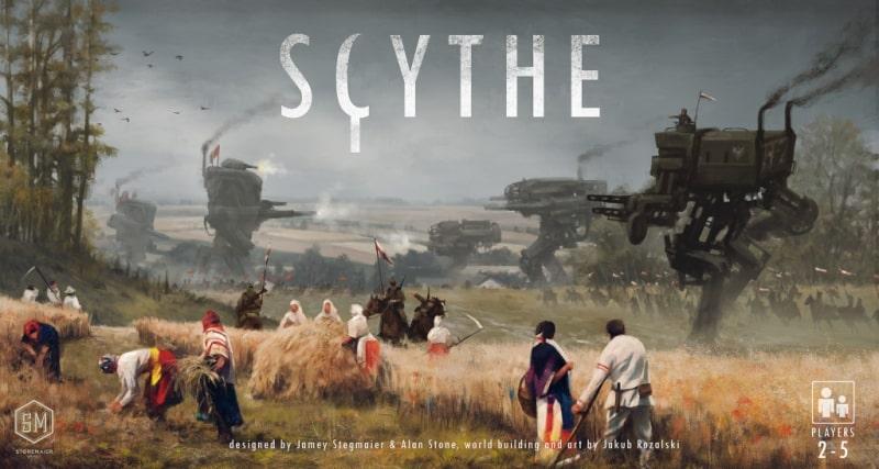 Scythe lautapelin kansi