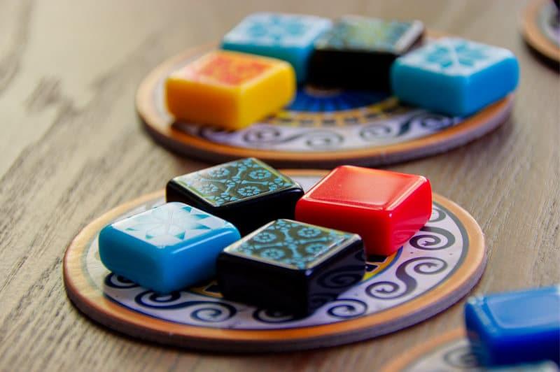 Azul lautapeli ja laattatarjotin