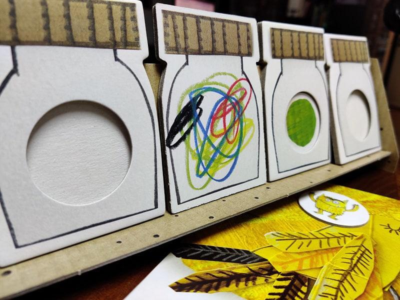 Lasten Pöydällä: Tunteiden värit on tärkeä lautapeli tunteista 3
